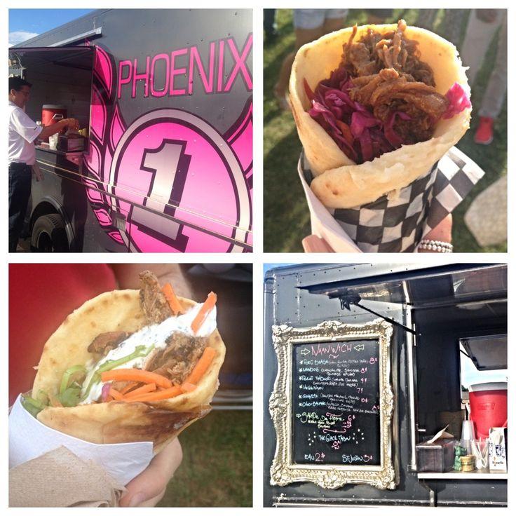 "Phoenix Food Truck, Montreal, ""Tandoori Chicken"" 9$ ""Braised Pork"" 8$ http://www.camionphoenix.com/"