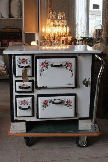 M s de 1000 ideas sobre estufas antiguas de cocina en - Estufa antigua de lena ...