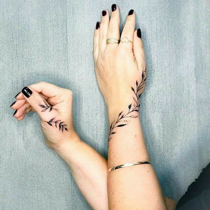 Mini Tattoo Page Na Instagramie Wrist Tattoo Designs For Girls Tag A Friend To Advertise At An Affordable Mini Tattoos Wrap Around Wrist Tattoos Tattoos