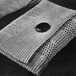 Pochette Purse by Free Vintage Crochet