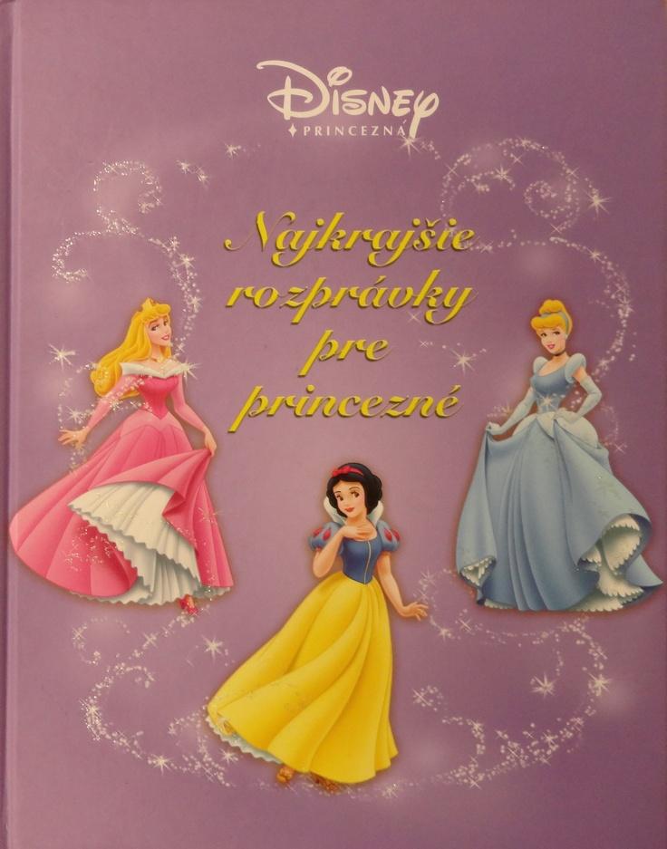 Andrejka's favourite book Najkrajšie rozprávky pre princezné.