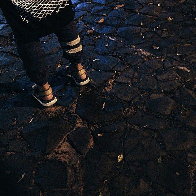 """@aginatha afternoon companion  #hijacksandals #leather #sandals #leathergoods #vsco #vscocam"""