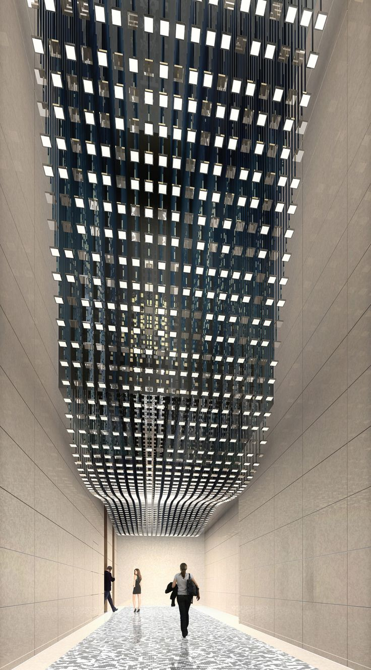 OLED: Dynamische Lichtwelle, is the largest OLED installation in Germany with 1,500 OLED discs.