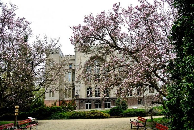 polish botanical gardens - Kórnik Castle