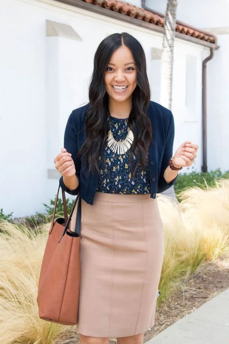 Trendiest women business skirt outfits modest you need to know 13