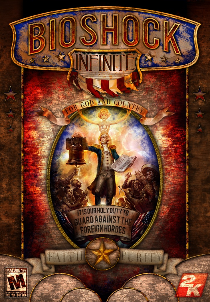 Bioshock Infinite. This would have made a great game cover