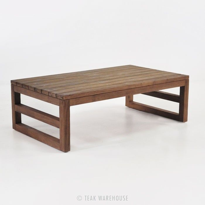 Manhattan Reclaimed Teak Coffee Table