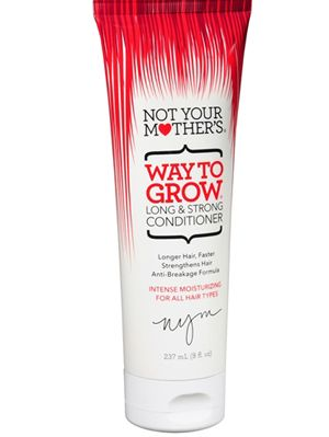 10 Products That Will Make Your Hair Grow Faster And Stronger | Gurl.com Not Your Mother's Way To Grow Conditioner When you're trying to grow your hair out, you want a conditioner that's going to keep your hair strong. This super moisturizing conditioner from Not Your Mother's strengthens and promotes growth, all while giving you shiny hair.