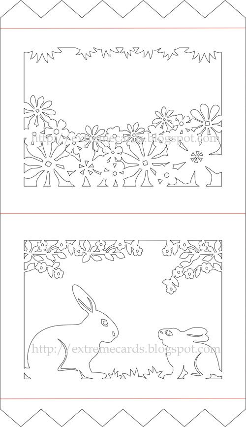 506 best Scherenschnitte images on Pinterest Papercutting - easter postcard template