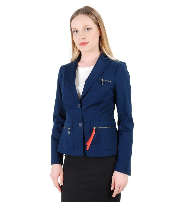 Military Style Spring17 | YOKKO #jacket #business #workwear #women #fashion #beauty #clothes #style #yokko #blue