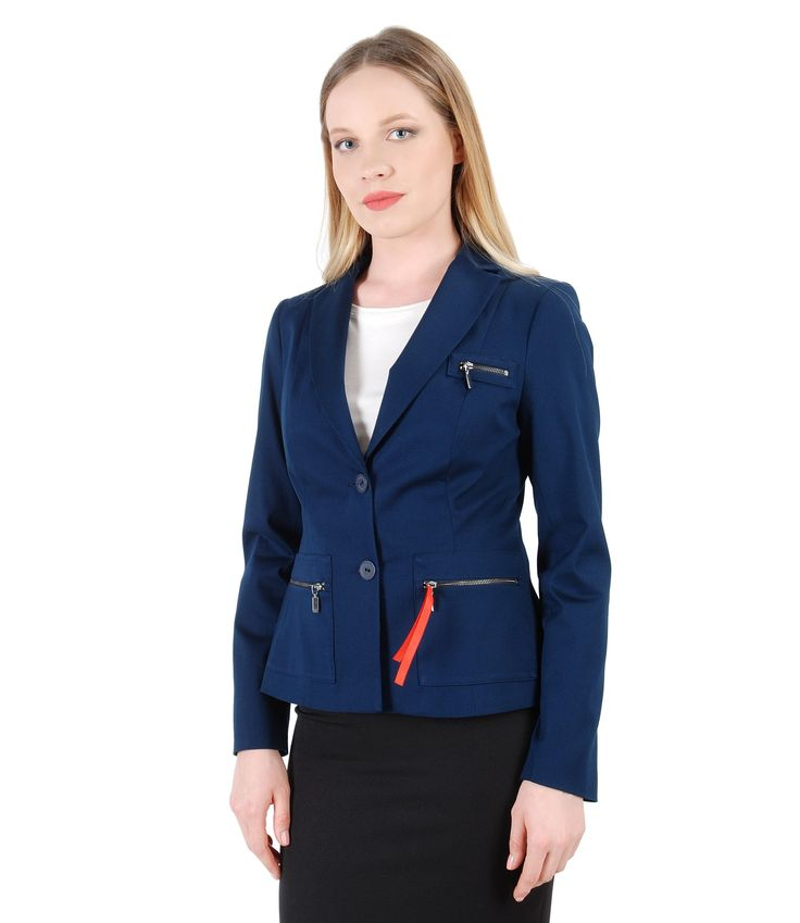 Military Style Spring17 | YOKKO #jacket #business #workwear #women #fashion #beauty #clothes #style #yokko #blue