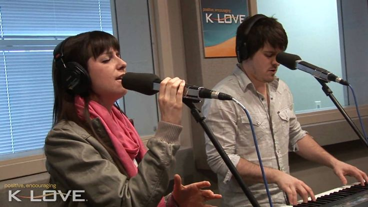 """Meredith Andrews performs""""What It Means To Love"""" LIVE at K-LOVE Christian radio station."""