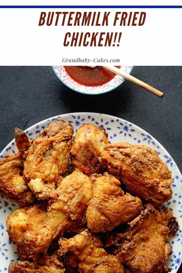 Smoked Paprika Buttermilk Fried Chicken Recipe Recipe Fried Chicken Recipes Chicken Recipes Buttermilk Fried Chicken