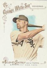 2014 Topps Allen Ginter Baseball SP #322 Paul Konerko, Chicago White Sox