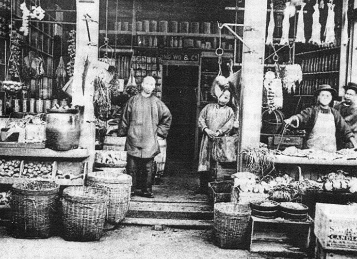 CHINESE GROCERY STORE 1904 SF