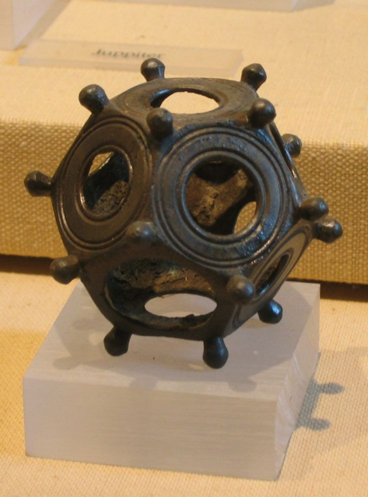 Roman Dodecahedron objects have been found all over Europe – but the mystery continues about their purpose and use. About the only thing that archaeologists have done – is name the objects. They date to around the 2nd or 3rd AD century.: Ancient History, Ancient Artefact, Romans Dodecahedron, 3Rd Century, Archaeology Finding, Mystery Continuing, Ancient Artifact, Sacred Geometry, Dodecahedron Object