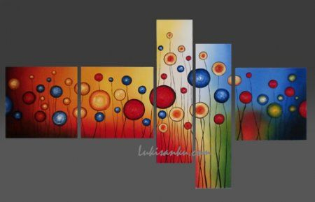 5 canvas set » Lukisan D51-MM • Toko Lukisan Online | Jual Lukisan | Galeri Lukisan l Lukisan Abstrak Minimalis
