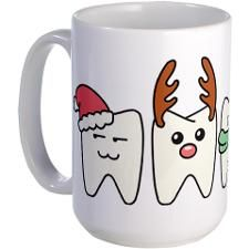 Dental Christmas Mug