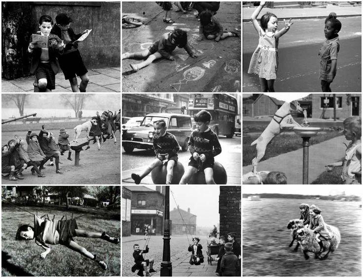Υπέροχες φωτογραφίες αποκαλύπτουν πως διασκέδαζαν τα παιδιά αρκετές δεκαετίες πίσω, χωρίς tablet, χωρίς video games. Χωρίς τεχνολογία, χωρίς smartphones..