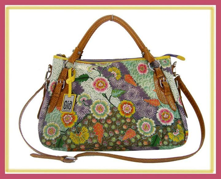 Batik's bag, made from batik tulis Pamekasan