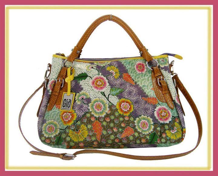 Batik's bag, made from batik tulis Pamekasan