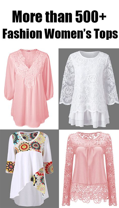 More than 500+ Fashion Women's Tops