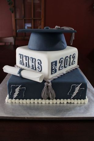 CakeSide - 2012 Graduation Cake submitted by Cake Dreams by Lee on www.cakeside.com!