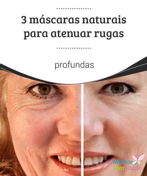 3 #máscaras naturais para #atenuar rugas profundas Todas as mulheres têm ou terão, eventualmente, que conviver com as #rugas. No entanto, podemos #atenuá-las com algumas máscaras naturais. Conheça-as aqui!