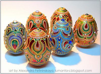 Art by Alexandra Fet: Easter project-2013. Part 4.
