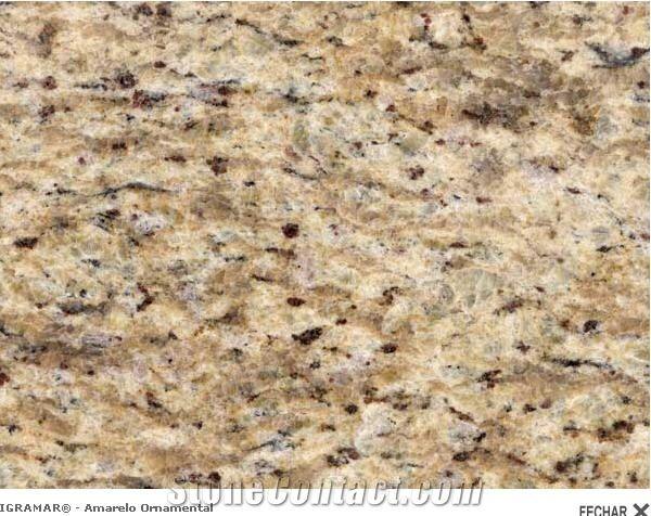 Amarelo Ornamental Granite, Giallo Ornamental Granite
