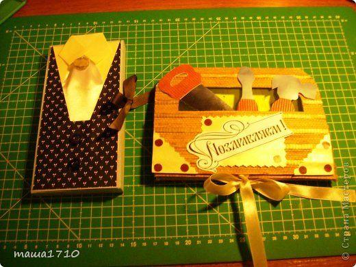 Аппликация - Мужчины тоже любят шоколад Шоколадницы к 23 февраля
