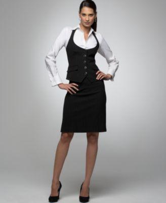 power business suits for petite women | Alfani Suits Women