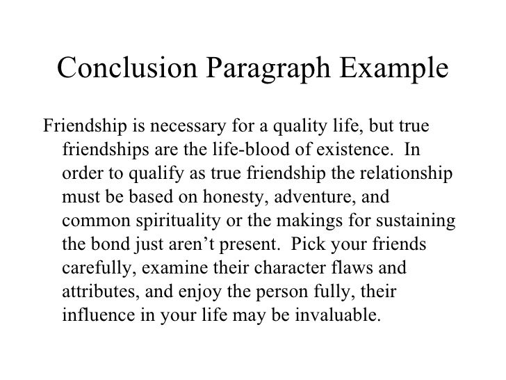 Essay on true friendship