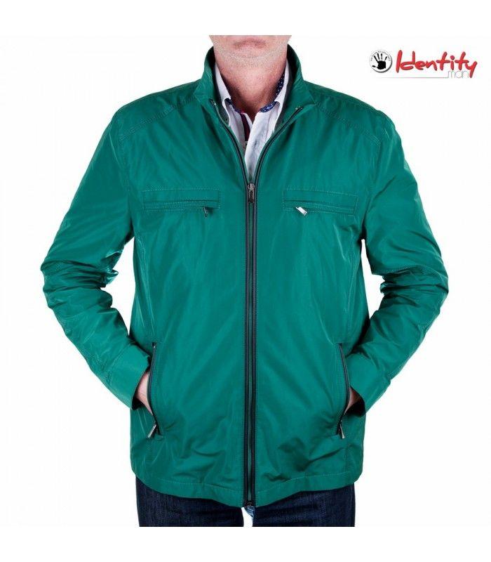 Jacheta verde de primavara