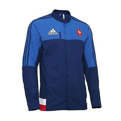 Adidas #french #rugby team 2015 anthem jacket s07496 mens~rrp #£40~uk s to xl,  View more on the LINK: http://www.zeppy.io/product/gb/2/272127975803/