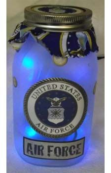 United States Air Force w/blue lights