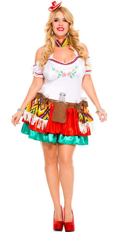 Who said Tequila? Be gorgeous at your next Mexican Fiesta with this gorgeous plus size Mexican costume  Check out this plus size Mexican costume on our website  http://www.heavencostumes.com.au/tequila-princess-sexy-mexican-costume-1.html
