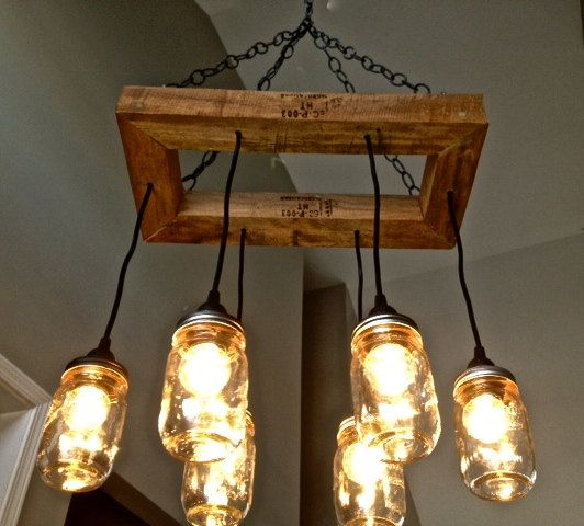 Funky Rustic Galvanized Pendant Light Via Etsy: 17 Best Ideas About Edison Bulb Chandelier On Pinterest