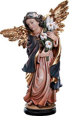 Angels - Angel with lily, 015 cm