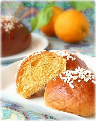 Profumo di Lievito: piccole tropézienne all'arancia con crema Cansado