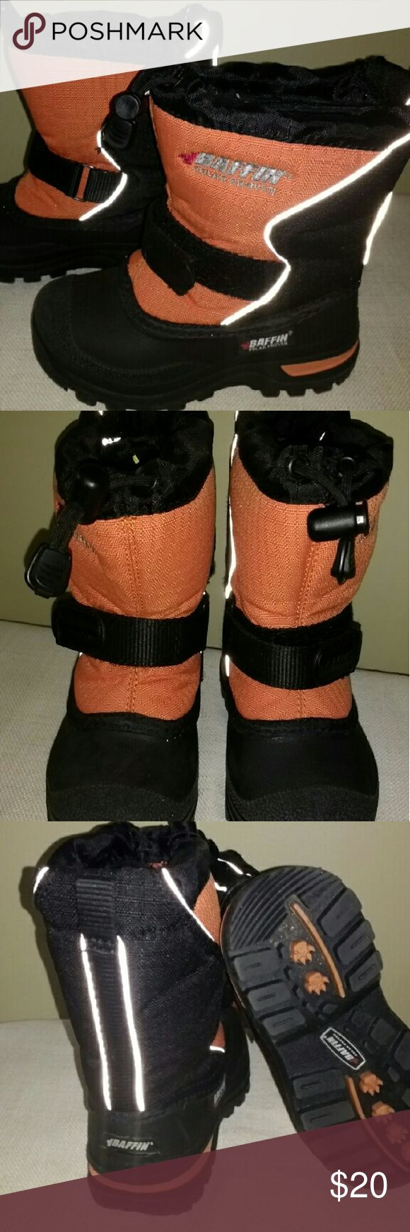 Baffin Mustang Child Snow Boot Insulated; now worn but a couple of times; like new or excellent condition! Baffin Shoes Boots