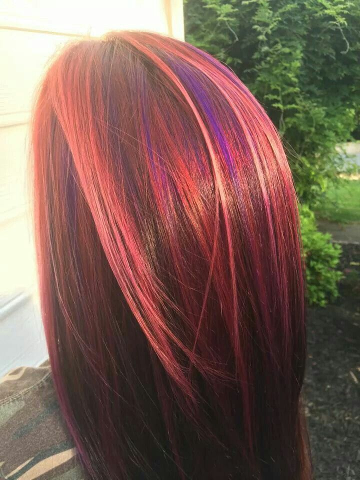Unique Hair Color Got A Wild Hair Pinterest