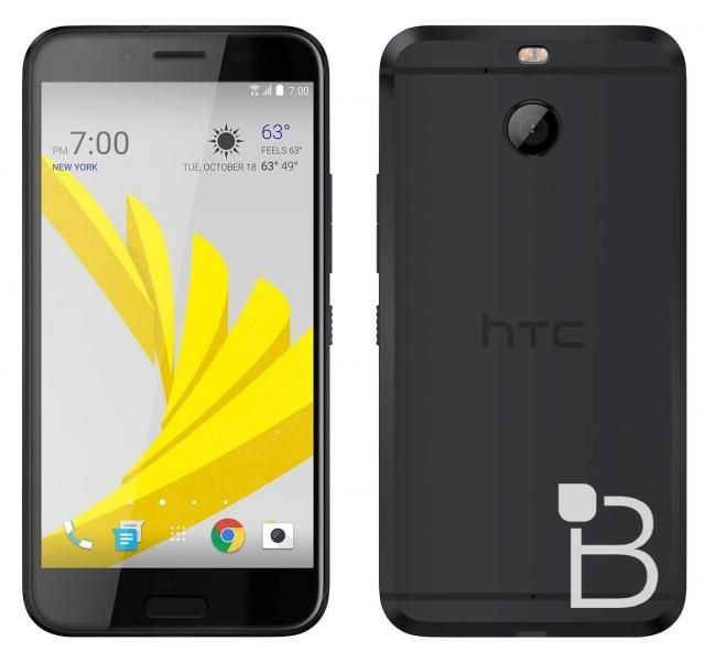 HTC 10 Evo/HTC Bolt in black - Here's the first image
