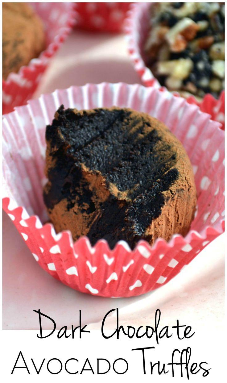 Dark Chocolate Avocado Truffles (Vegan) - Insanely decadent, creamy & fudgie. No one will ever guess there's healthy green stuff in them | www.craftycookingmama.com