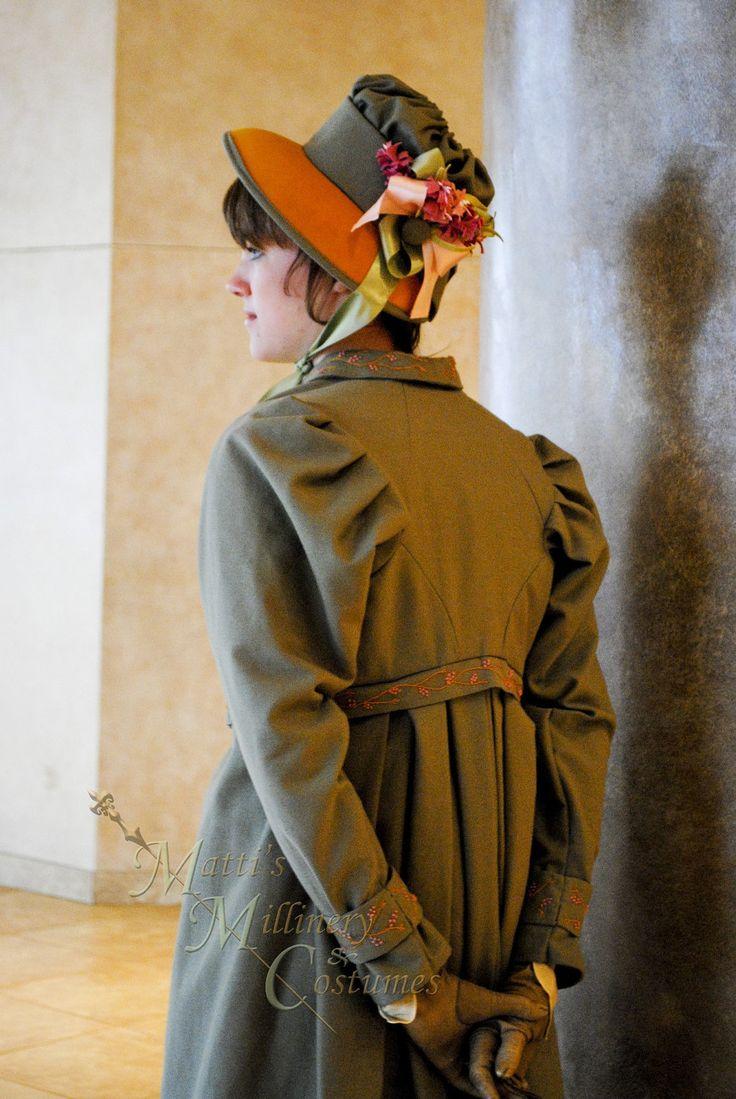Regency fashion plate the secret dreamworld of a jane austen fan - Jane Austen Clothing Regency Jane Austen Dress Spencer Jacket Pelisse P P Redingote In