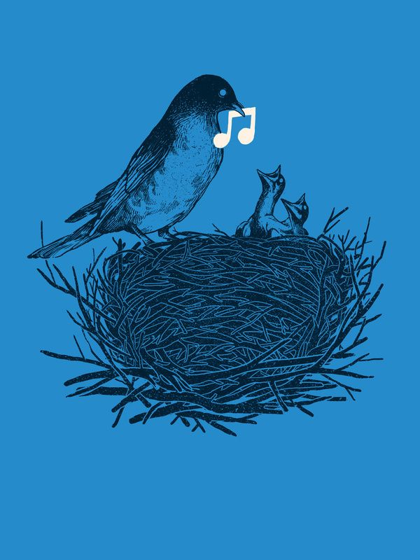 Feed the birds..one note at a time. #music #art #musicart www.pinterest.com/TheHitman14/music-art-%2B/