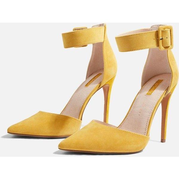 TopShop Wide Fit Grace Court Shoes ($75