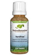 Verti Free Homeopathic remedy to support inner ear balance and address vertigo, nausea & dizziness #remedies #remedy