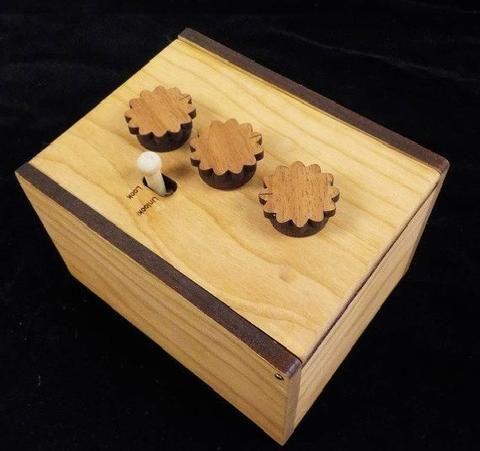 Secret Lock Box II Puzzle Box - Escape Room Puzzle - Creative Escape Rooms