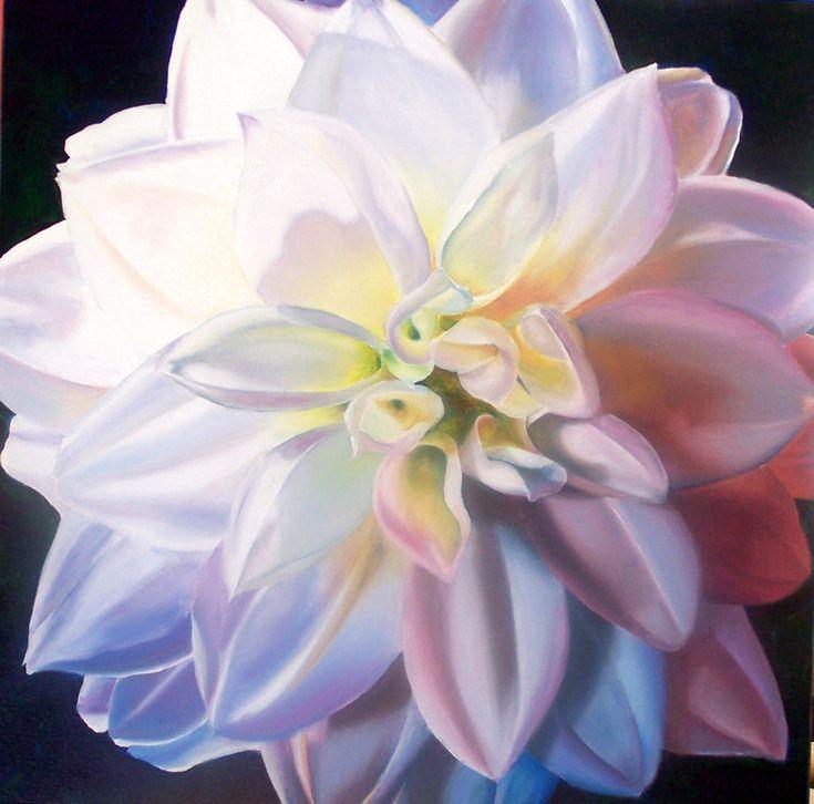 Canadian Artist Gwen Card Flower Series